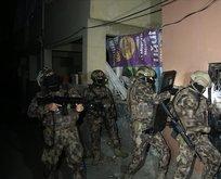 Teröristler tutuklandı!