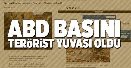 ABD basını teröristlere köşe açtı