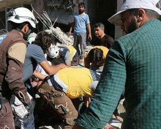 İdlib'e hava saldırısında ölü sayısı yükseliyor