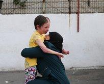 Küçük Hiba, ailesine kavuştu