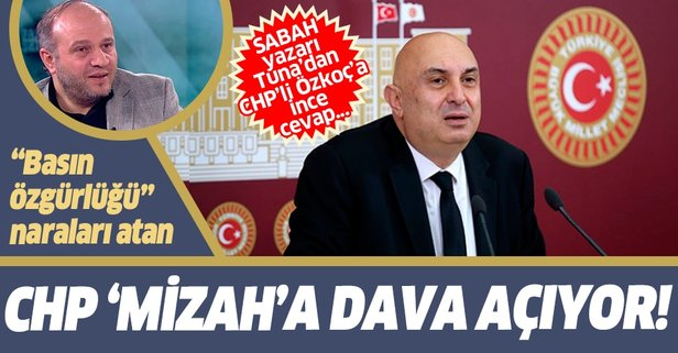 Salih Tuna'dan CHP'li Engin Özkoç'a cevap