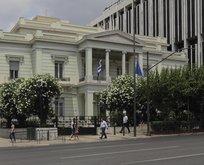 Yunan Dışişlerinden skandal açıklama