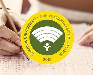 AUZEF sınav giriş belgesi yayımlandı!