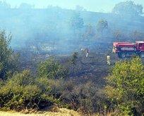 Tekirdağ'da 200 dönümlük orman kül oldu