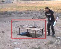 İşte teröristlerin şeytani tuzakları! Türkiye sınırında...