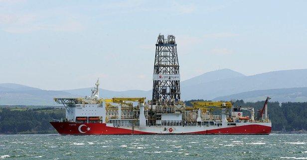 Fatih sondaj gemisi İstanbul'da