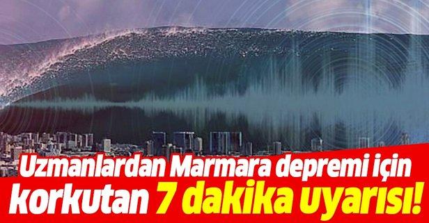 Uzmanlardan Marmara depremi için korkutan uyarı