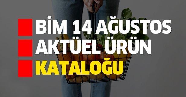 14 Ağustos BİM aktüel kataloğu ürünleri dikkat çekiyor!