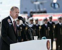 Başkan Erdoğandan Akdeniz mesajı