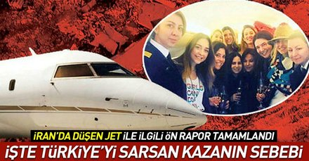 Mina Başaranın hayatını kaybettiği uçak kazasıyla ilgili ön rapor hazırlandı