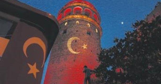 İstanbul'da milli maç heyecanı