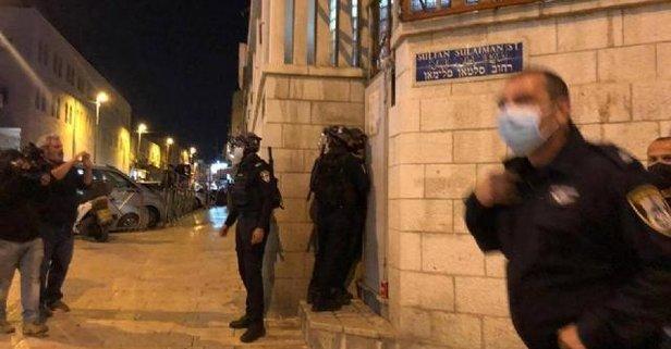İsrail şiddeti sürüyor: Filistinli gençlere müdahale