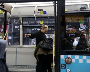İstanbul'da ilginç olay!  'Ayakkabıma kadar çıkardım'