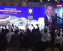 Erdoğan'a Müslüm Gürses şarkısı ile karşılama