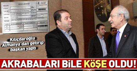 Kemal Kılıçdaroğlu'nun Maltepe Belediye Başkanı yaptığı Ali Kılıç'ın akrabaları köşeyi döndü