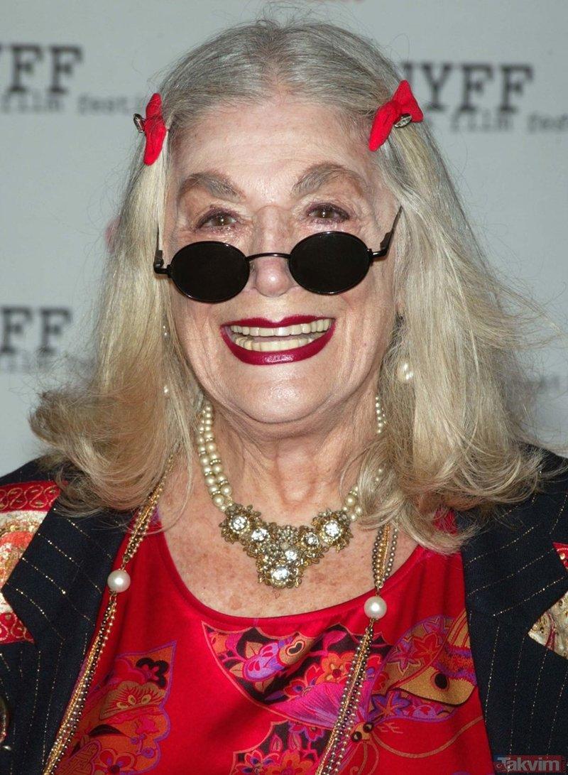 Hollywood'un usta oyuncusu Sylvia Miles hayatını kaybetti!