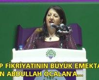 HDP kongresinde Öcalan'a saygı duruşu!