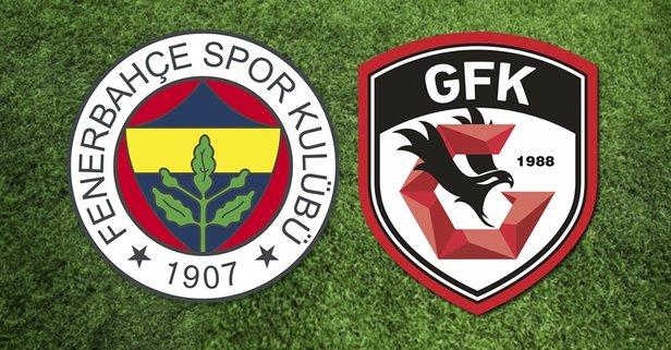 Fenerbahçe Gazişehir Gaziantep maçı ne zaman, saat kaçta?