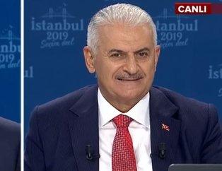 CHP adayı İmamoğlu'nu canlı yayında yıldırım çarptı