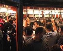 """""""İstanbul'daki toplu taşıma görüntüleri endişe yarattı"""""""