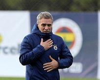 Ersun Yanal Bursaspor maçı 11'ini belirledi