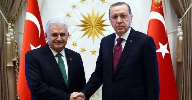 Başkan Erdoğandan Yıldırıma şeref madalyası