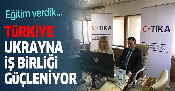 Türkiye'den Ukrayna'ya yolsuzlukla mücadele eğitimi