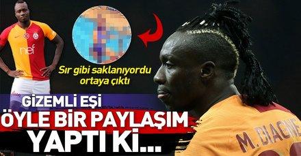 Galatasaraylı Diagne'nin eşini görenler şaşkına döndü! Sır gibi saklanıyordu