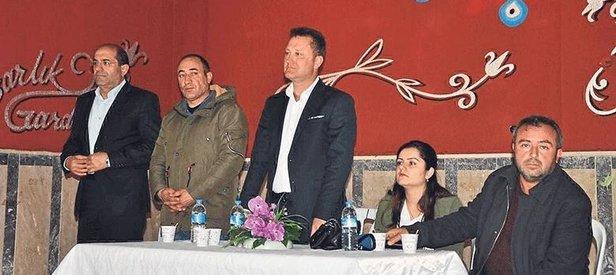 CHP'li Serdar Aksoy, PKK'ya yakınlığıyla bilinen isimlerle yan yana!