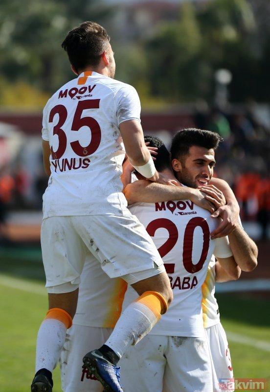 İşte Galatasaray´ın BB Erzurumspor maçı 11´i!
