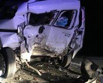 Gaziantep'te feci kaza: 1 ölü, 9 yaralı