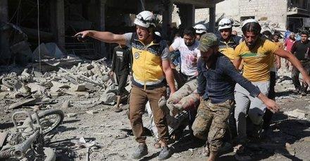 İdlib'de katliam sürüyor! 50 sivil hayatını kaybetti