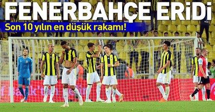 Fenerbahçe'nin kadro değeri eridi
