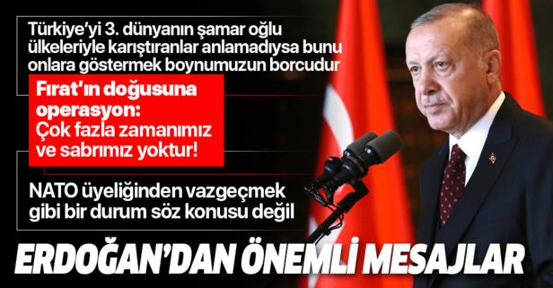 Erdoğan'dan Harp Okulları Diploma Töreni'nde önemli açıklamalar