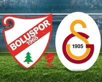 Boluspor - Galatasaray maçı ne zaman?