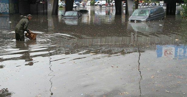 Meteorolojiden İstanbula sel uyarısı