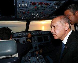 3. havalimanına ilk iniş gerçekleşti! Cumhurbaşkanı Erdoğandan ilk açıklamalar