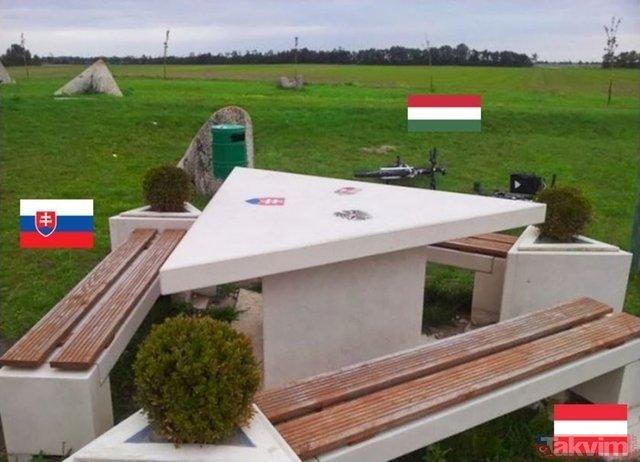 Dünyada birbirinden ilginç ülke sınırları