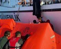 Yunanistan ölüme terk etti Türk Sahil Güvenlik kurtardı