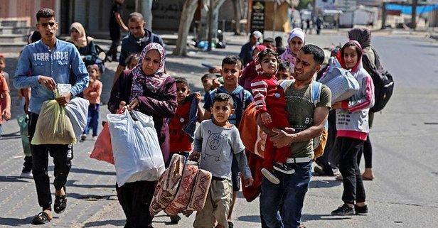 BM'den Gazze raporu! 52 bin sivil yerinden edildi