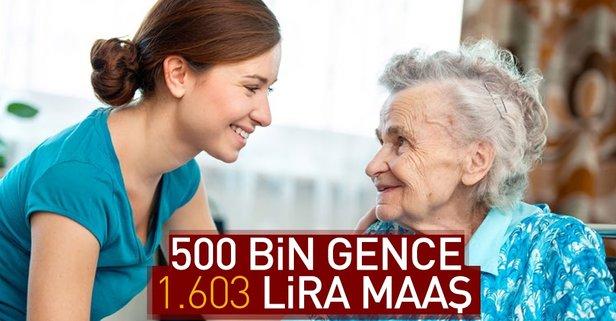 500 bin gence 1.603 lira maaş