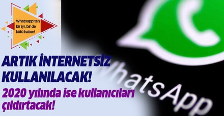 WhatsApp internetsiz nasıl kullanılır? İnternet olmadan WhatsApp kullanma yolları! İşte cep telefonu ayarı