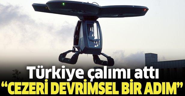 Türkiye uçan otomobil yarışına erken girdi: CEZERİ devrimsel bir adım olacak