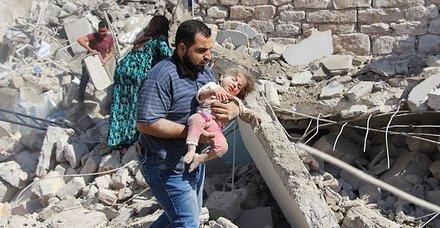 İdlib Gerginliği Azaltma Bölgesi'ne şiddetli hava saldırıları sürüyor! Ölü sayısı 17'ye yükseldi
