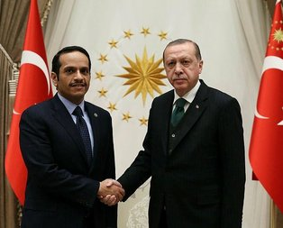 Cumhurbaşkanı Erdoğan, El Saniyi kabul etti
