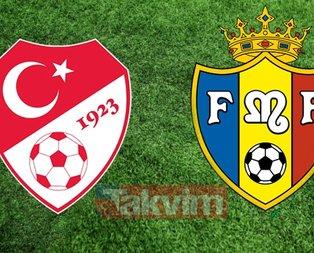 Türkiye - Moldova maçı ne zaman, saat kaçta?