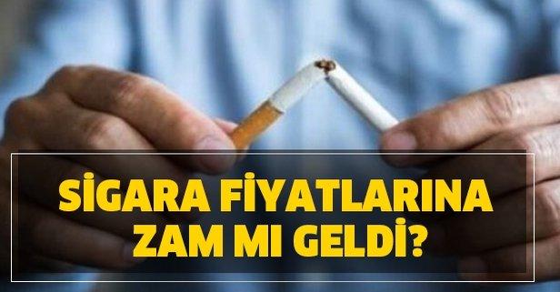 Sigara fiyatlarına zam mı geldi? 30 Mart sigara fiyat listesi!