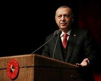 Başkan Erdoğan'dan dünyaya KKTC mesajı