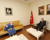 Başkan Erdoğan'dan dikkat çeken görüşme