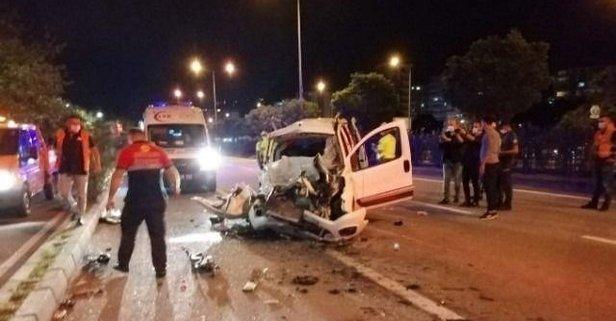 Otomobil, LPG tankerine çarptı: Acı haber...